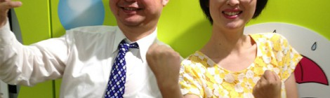 NHK World ラジオ「ラジオパーソナリティーコンテスト」で北京会場を担当